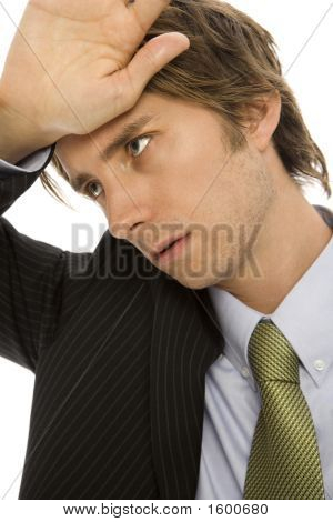 Businessman With Stress