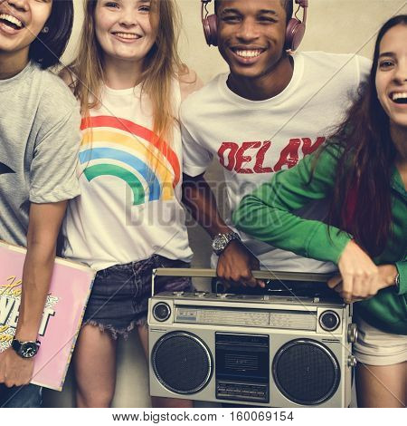 Teenagers Lifestyle Casual Culture Youth Style