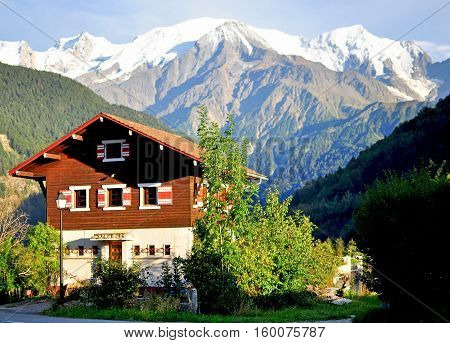 Rural house in french Alps on summer