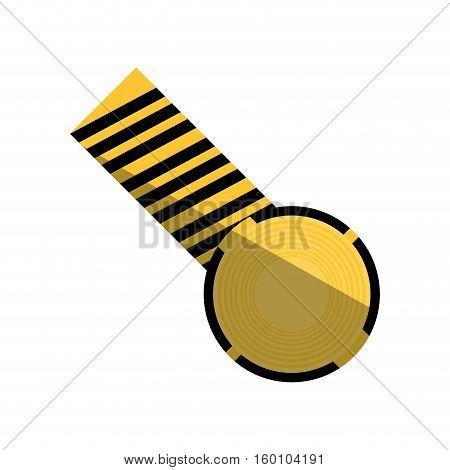 cartoon caution striped tape warning shadow vector illustration eps 10