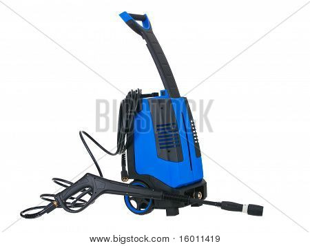Blue Pressure Portable Washer With Hose