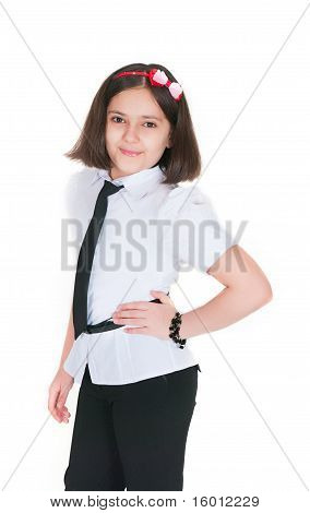The Schoolgirl In A Uniform