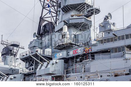 Uss Iowa Museum Battleship