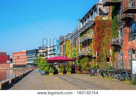 Waterfront Muenster In Muenster, Westphalia, Germany