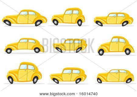 Car in Different Shape