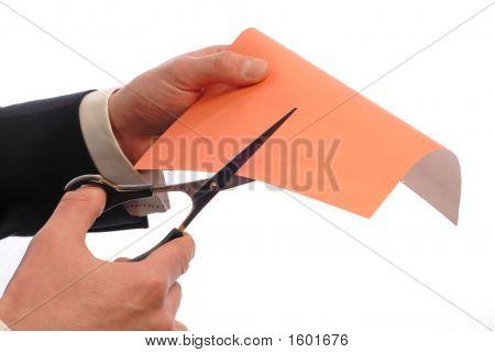 Businessman Cuts