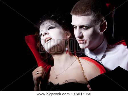 Vampire Couple Bite