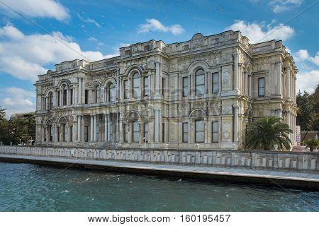 Beylerbeyi Palace in Istanbul Turkey
