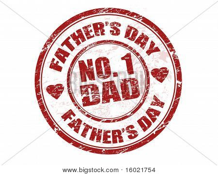 Father's Day stempel