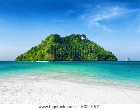 Clear Water And Blue Sky