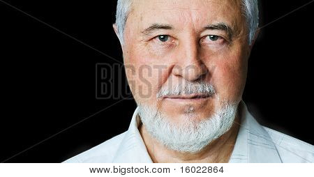Portrait of a smiling senior