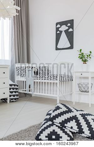 Toddler Room In Scandi Style