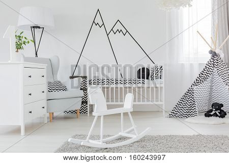 Child Bedroom With Wall Decal