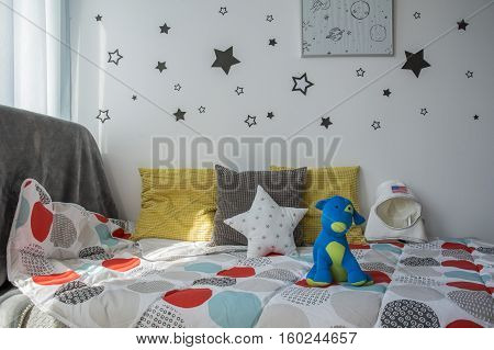 Comfortable Child's Bed