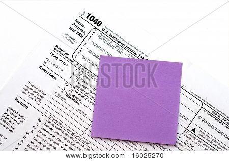 Us Tax Form