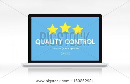 Quality Control Check Product Concept