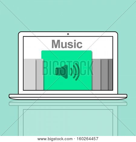 Audio Podcast Music Multimedia Broadcast Concept