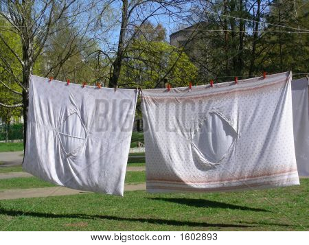 Washed Bed-Clothes