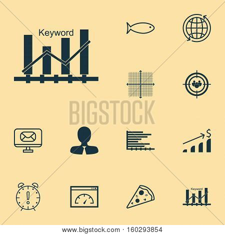 Set Of 12 Universal Editable Icons. Can Be Used For Web, Mobile And App Design. Includes Elements Such As Successful Investment, Time Management, Focus Group And More.