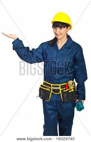 Constructor Worker Female Presentation