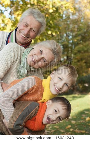 Nice Family Of Four
