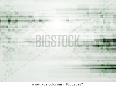 Light green grunge tech abstract background