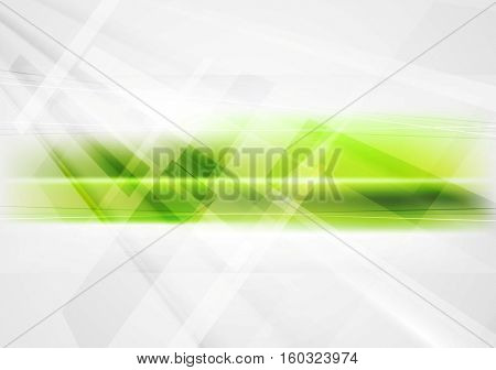 Abstract green technology corporate background