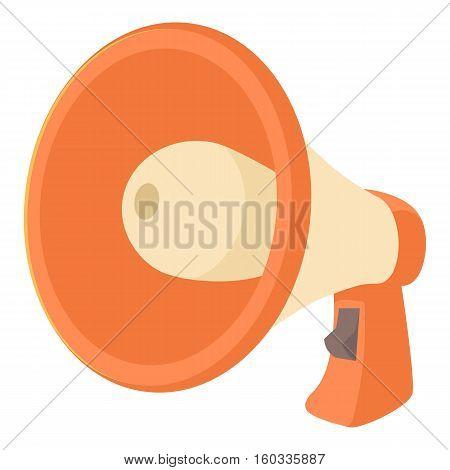 Loudspeaker icon. Cartoon illustration of loudspeaker vector icon for web