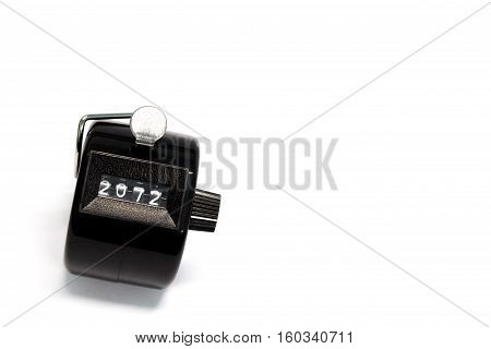 Counter On White Background