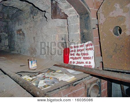 Oven, Mauthausen Concentration Camp, Austria