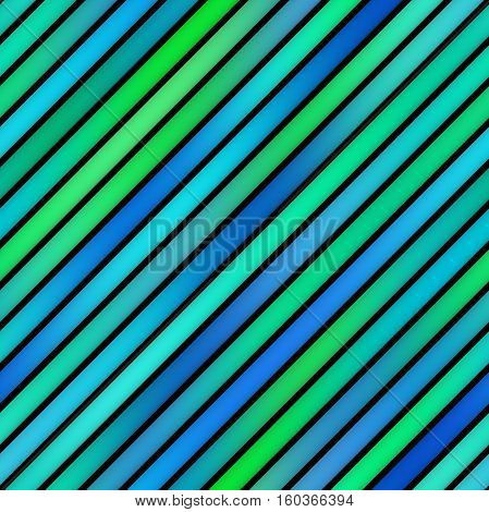 Parallel Gradient Stripes. Abstract Geometric Background Design. Seamless Multicolor Pattern.