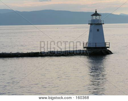 Lighthouse Off Vermont