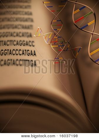 Genetic code in the book of life