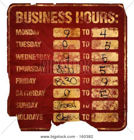 Business Hours Degraded