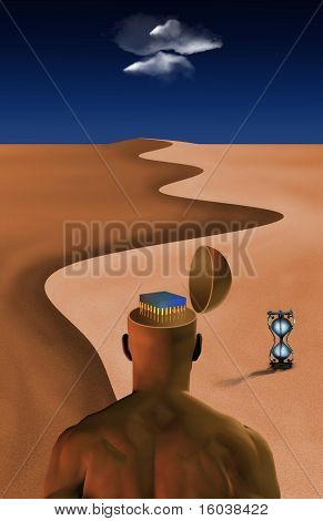 Desert of time and technology