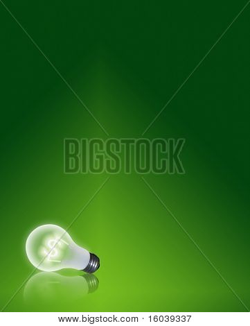 Hi-res Light bulb filament of Dollar Symbol $