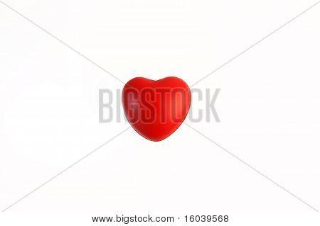 corazón como bandera de Japón