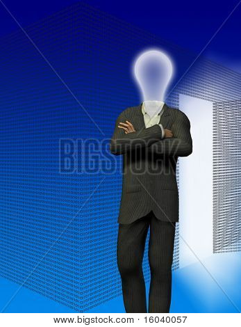Binary room and idea man