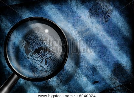 Finger print investigate