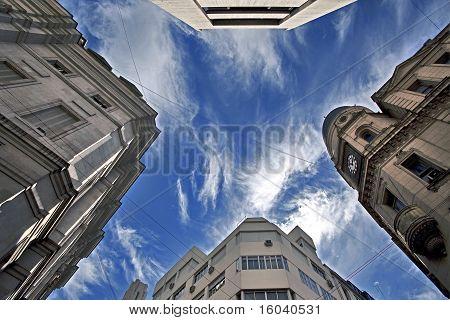 Avenida Corrientes, Buenos Aires, Argentina.