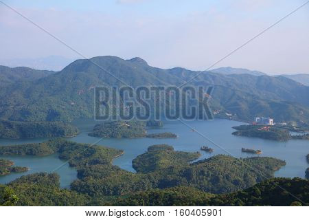 Tai Lam Chung Reservoir In Hk