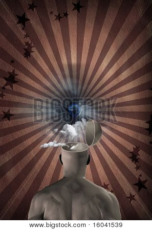 Mind - Dream - Vision - Open Mind
