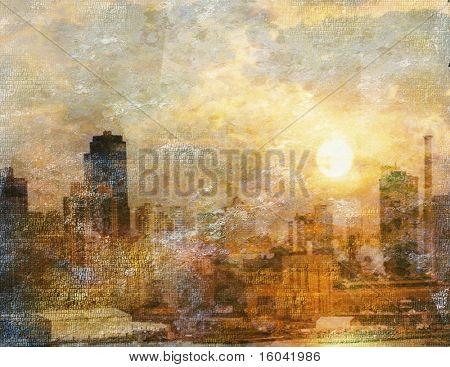 Impresión de la ciudad