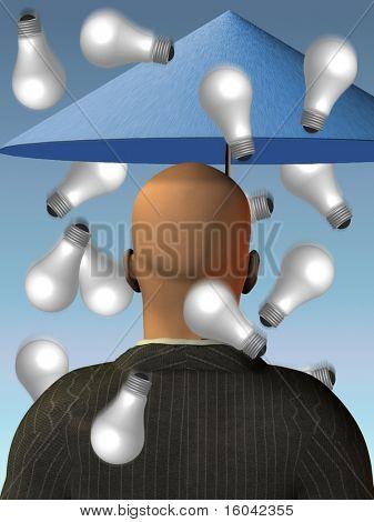 Brain Storm - regen Gedankenaustausch