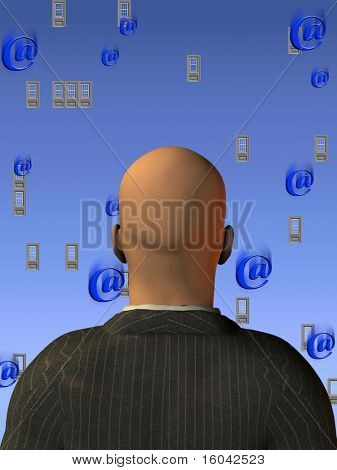 """Windows and """"at"""" symbols - Email - Many Email - Operating System"""
