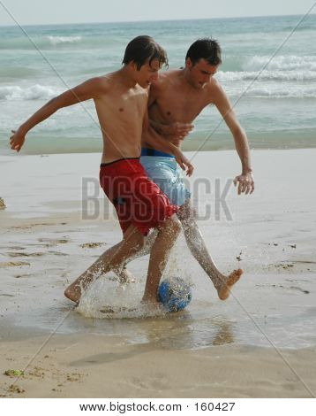 Soccer On The Beach3