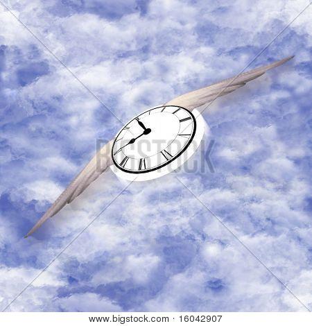 Patrón de vuelo de tiempo sin costura
