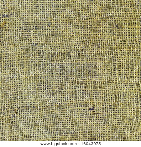 Seamless repeatable burlap pattern