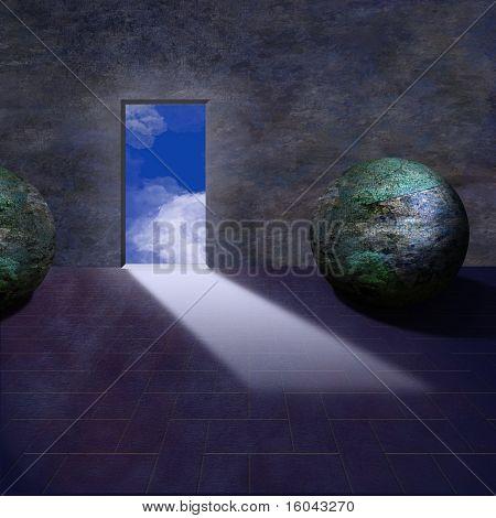 Mythical fantasy room