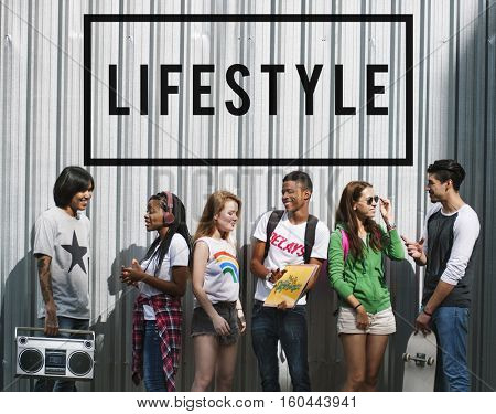 Entertainment Music Teenagers Lifestyle Concept
